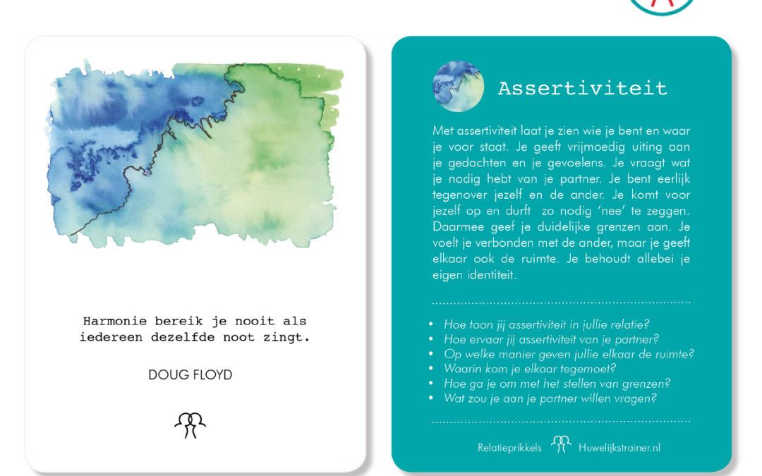 Relatieprikklen van de week: assertiviteit
