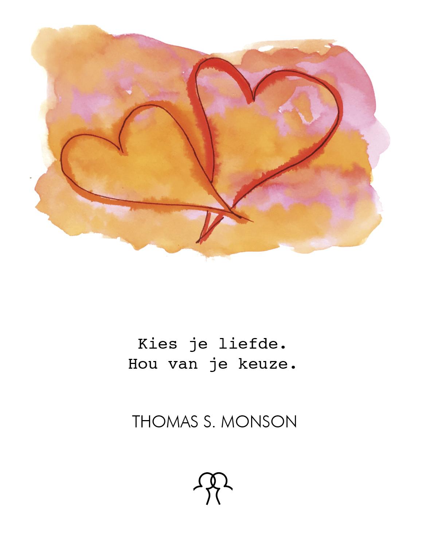 Liefde overwint alles.