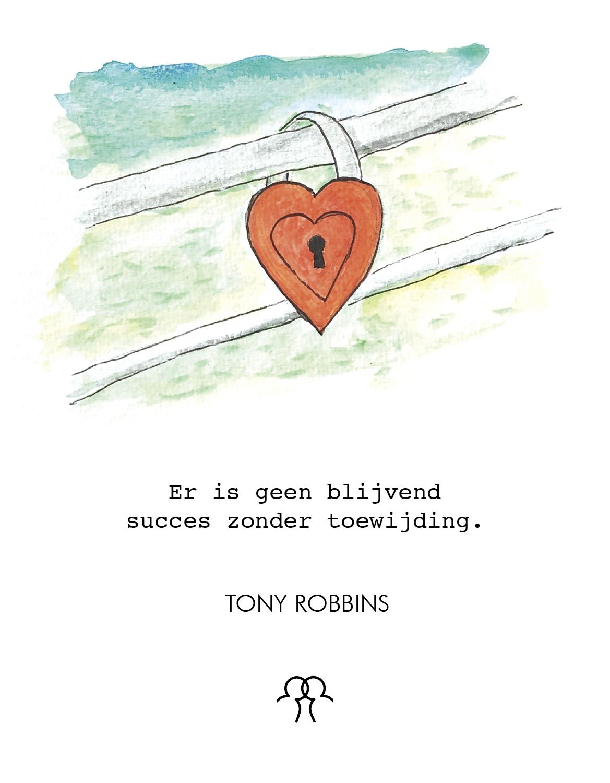 Toewijding: een vrijwillig offer van liefde