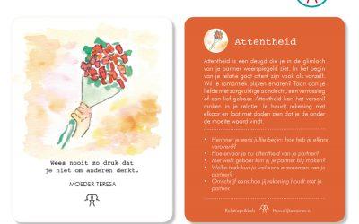 Attentheid: neem eens wat vaker een bloemetje mee